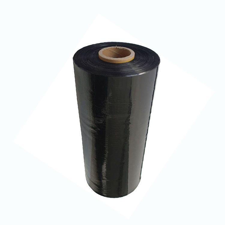 Black Machine Stretch Wrap Film Image
